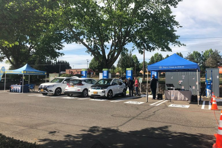 Hillsboro's Largest Charging Station to Open at Sunset Esplanade, May 18