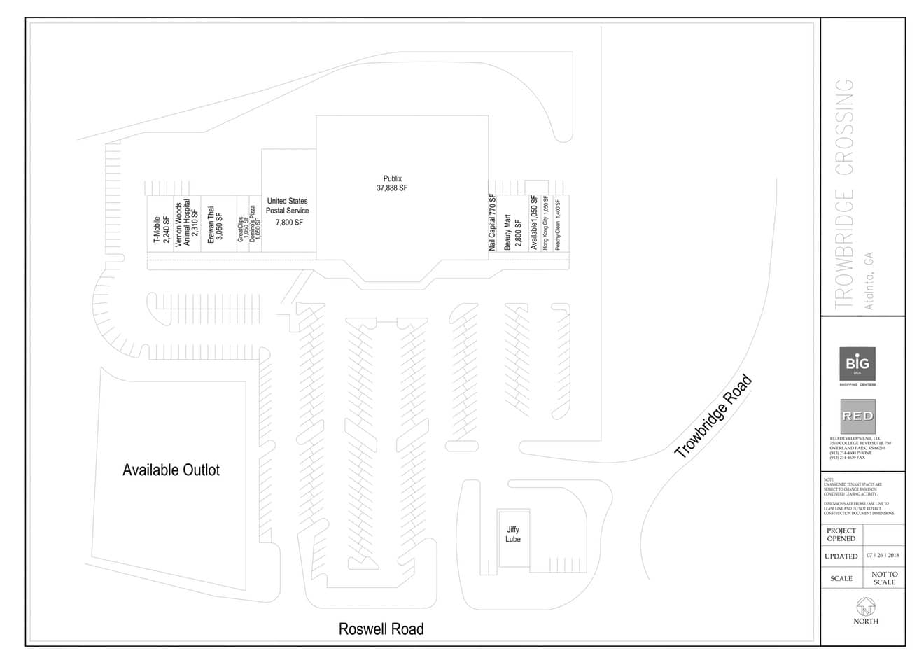 Sunset Esplanade Site Plan