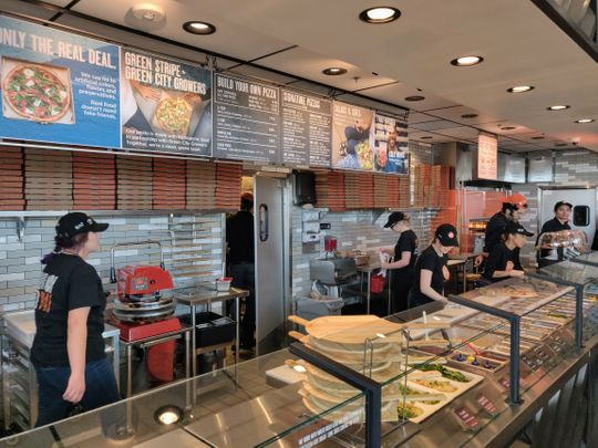 LeBron's Blaze Pizza Chain Opens in Sparks