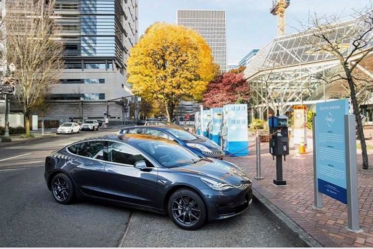 Electric Avenue Charging Station to Open at Sunset Esplanade
